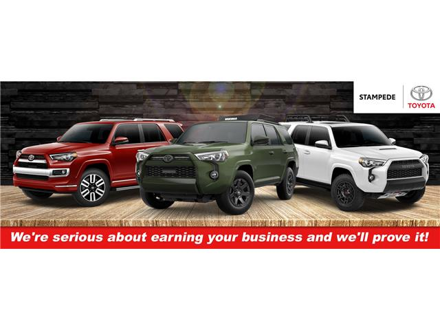 New 2021 Toyota 4Runner Base INCOMING UNITS AVAILABLE FOR PRE-SALE!! - Calgary - Stampede Toyota
