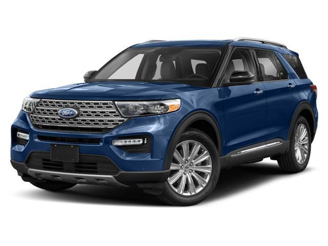 2021 Ford Explorer XLT Blue