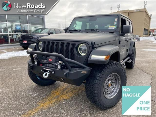 2021 Jeep Wrangler Unlimited Sahara (Stk: W20356) in Newmarket - Image 1 of 22