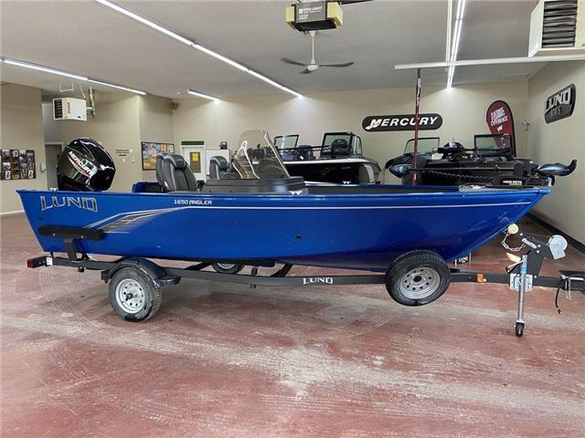 2021 Lund 1650 Angler SS  (Stk: YB21-99) in Nipawin - Image 1 of 15