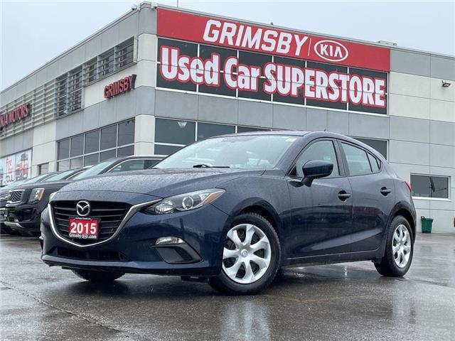 2015 Mazda Mazda3 GX Sport, Clean carfax, Gas saver!!! (Stk: U1983) in Grimsby - Image 1 of 16