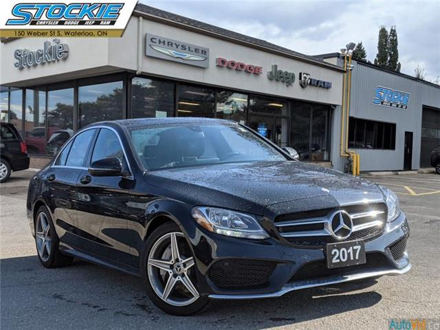 2017 Mercedes-Benz C-Class Base (Stk: 35783) in Waterloo - Image 1 of 28