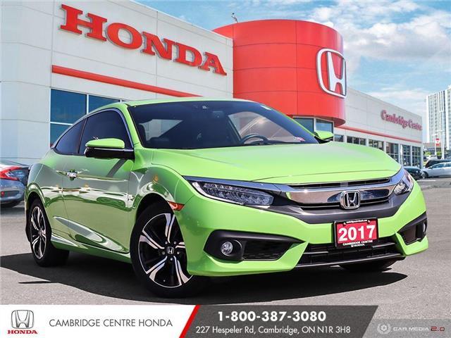 2017 Honda Civic Touring 2HGFC3B91HH450862 21453A in Cambridge
