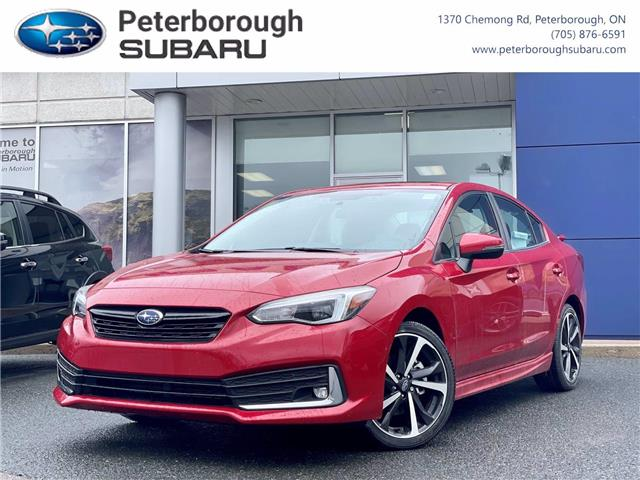 2021 Subaru Impreza Sport-tech (Stk: S4500) in Peterborough - Image 1 of 30
