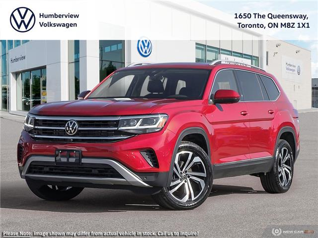 2021 Volkswagen Atlas 3.6 FSI Execline (Stk: 98522) in Toronto - Image 1 of 23