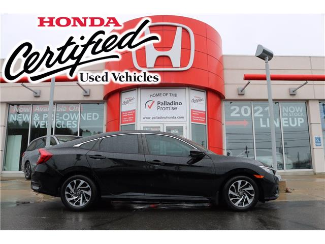 2018 Honda Civic EX (Stk: U9967) in Sudbury - Image 1 of 34
