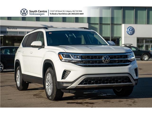 2021 Volkswagen Atlas 2.0 TSI Trendline (Stk: 10066) in Calgary - Image 1 of 42