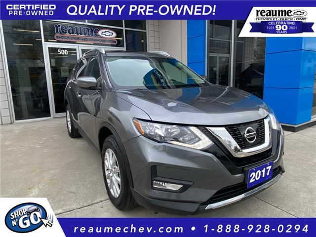 2017 Nissan Rogue SV (Stk: P-4549) in LaSalle - Image 1 of 22