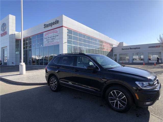 2018 Volkswagen Tiguan Comfortline (Stk: 210328A) in Calgary - Image 1 of 24