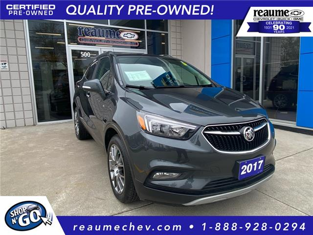 2017 Buick Encore Sport Touring (Stk: L-4550) in LaSalle - Image 1 of 24