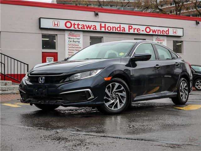 2019 Honda Civic EX (Stk: H88120) in Ottawa - Image 1 of 27