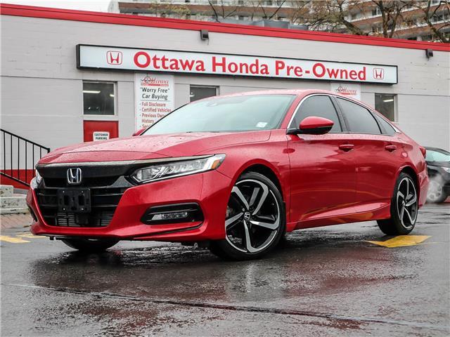 2018 Honda Accord Sport (Stk: H89660) in Ottawa - Image 1 of 29
