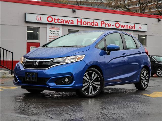 2019 Honda Fit EX-L Navi (Stk: H89670) in Ottawa - Image 1 of 27