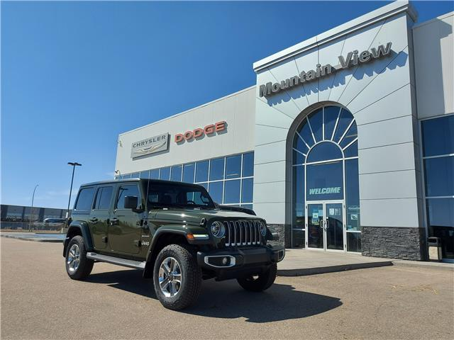 2021 Jeep Wrangler Unlimited Sahara (Stk: AM045) in Olds - Image 1 of 25