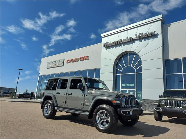 2021 Jeep Wrangler Unlimited Sahara (Stk: AM018) in Olds - Image 1 of 26