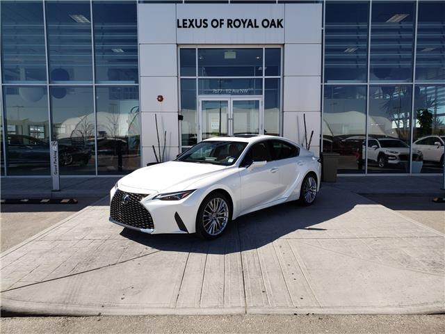 2021 Lexus IS 300 Base (Stk: L21322) in Calgary - Image 1 of 15