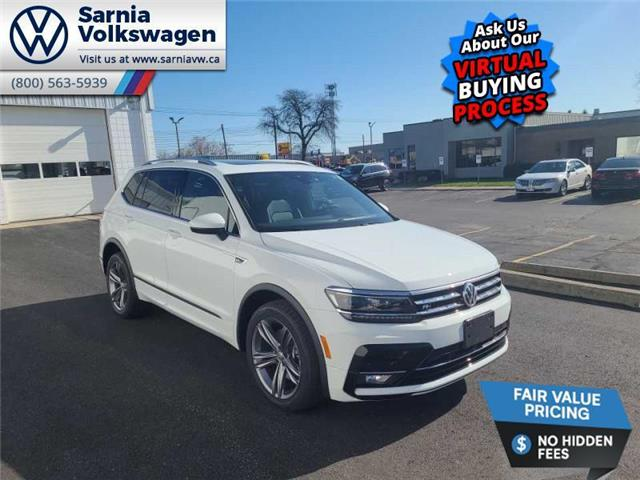 2021 Volkswagen Tiguan Highline (Stk: V2195) in Sarnia - Image 1 of 23