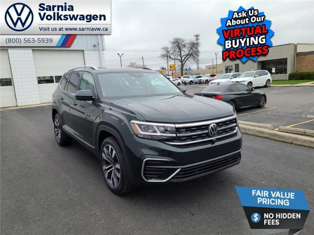 2021 Volkswagen Atlas 3.6 FSI Execline (Stk: V21108) in Sarnia - Image 1 of 24