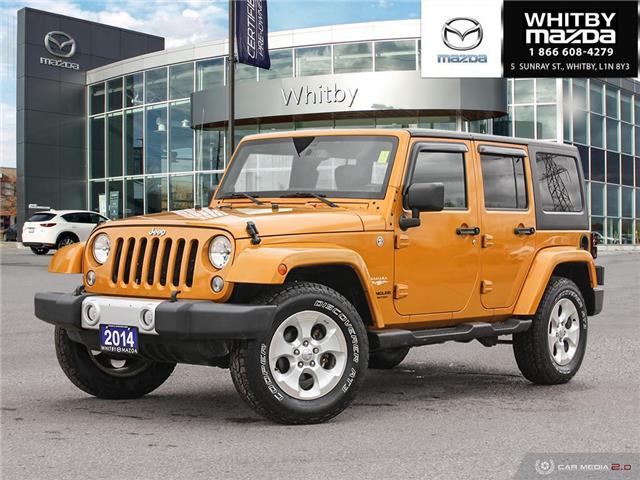 2014 Jeep Wrangler Unlimited Sahara (Stk: 210349A) in Whitby - Image 1 of 26