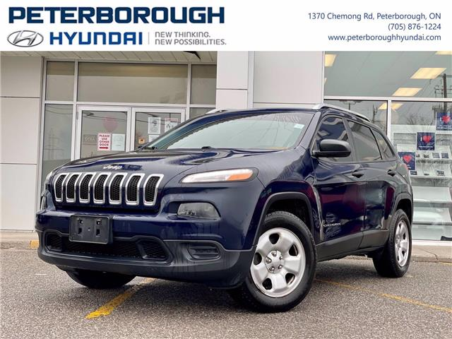 2016 Jeep Cherokee Sport (Stk: H12900A) in Peterborough - Image 1 of 30