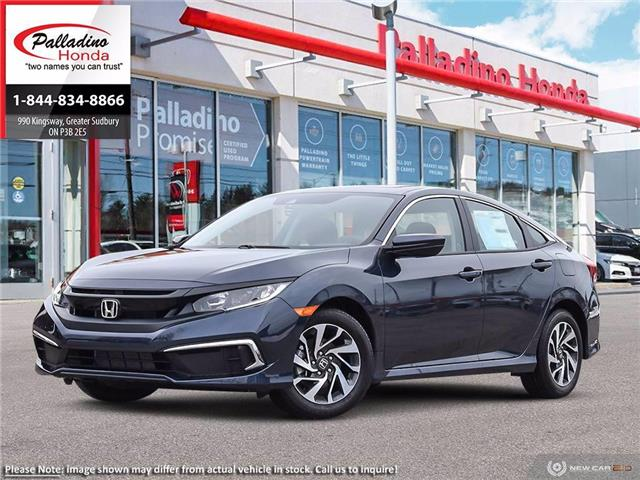 2021 Honda Civic EX (Stk: 23241) in Greater Sudbury - Image 1 of 23