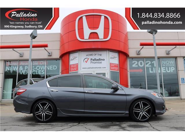 2016 Honda Accord Sport (Stk: U9966) in Greater Sudbury - Image 1 of 31