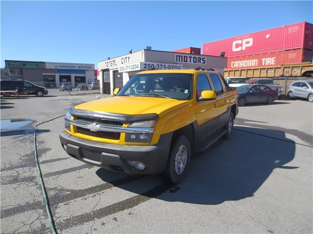 2003 Chevrolet Avalanche 1500 Base (Stk: ) in Kamloops - Image 1 of 21