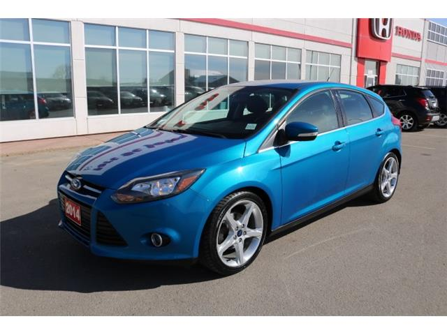 2014 Ford Focus Titanium (Stk: U1235) in Fort St. John - Image 1 of 21