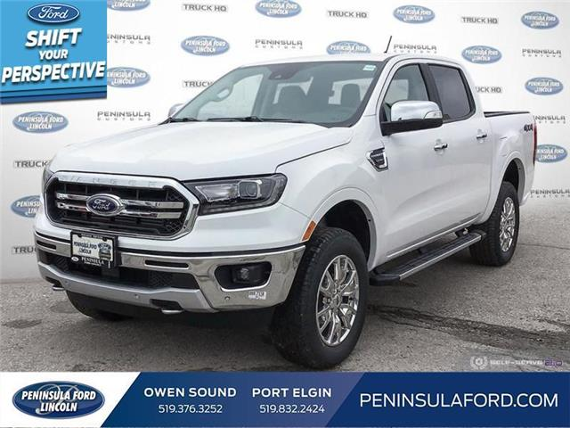 2021 Ford Ranger Lariat (Stk: 21RA20) in Owen Sound - Image 1 of 25