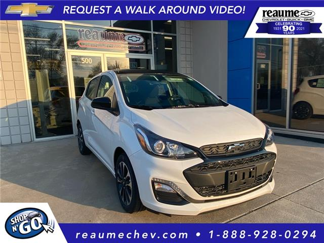 2021 Chevrolet Spark 1LT CVT (Stk: 21-0476) in LaSalle - Image 1 of 6