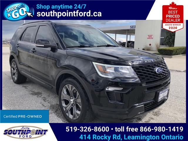 2018 Ford Explorer Sport (Stk: S6879A) in Leamington - Image 1 of 29