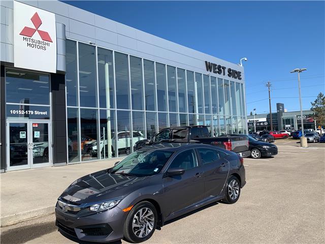 2016 Honda Civic EX (Stk: BM4083) in Edmonton - Image 1 of 1