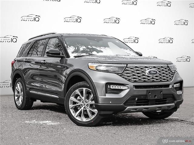 2021 Ford Explorer Platinum (Stk: 1T095) in Oakville - Image 1 of 29