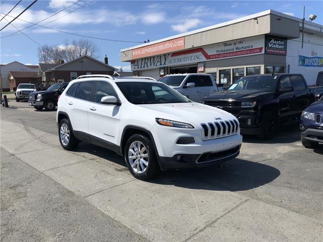 2017 Jeep Cherokee Limited (Stk: ) in Garson - Image 1 of 11