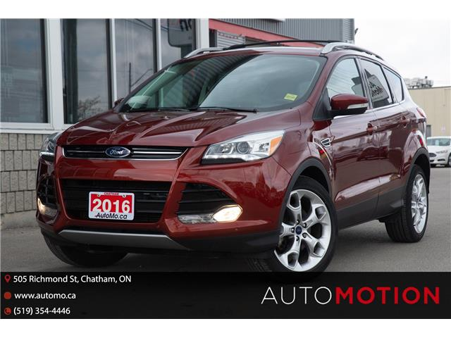2016 Ford Escape Titanium (Stk: 21636) in Chatham - Image 1 of 20
