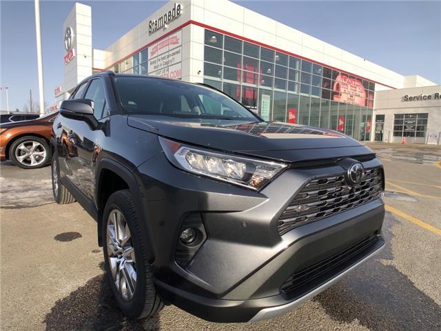 2021 Toyota RAV4 Limited (Stk: 210558) in Calgary - Image 1 of 21