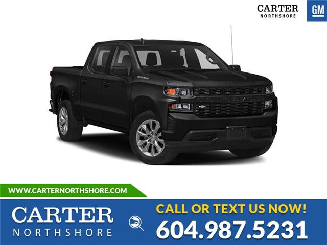 New 2021 Chevrolet Silverado 1500 Custom  - North Vancouver - Carter GM North Shore
