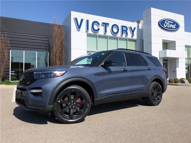 2021 Ford Explorer ST (Stk: VEX20253) in Chatham - Image 1 of 17