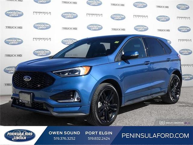 2020 Ford Edge ST (Stk: 21ED03A) in Owen Sound - Image 1 of 25
