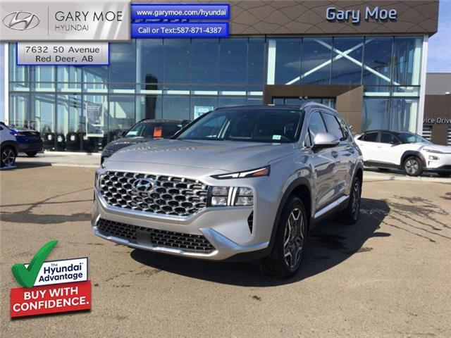 2021 Hyundai Santa Fe Hybrid Luxury AWD (Stk: 1SF5217) in Red Deer - Image 1 of 12
