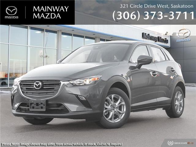 2021 Mazda CX-3 GS Custom Appearance Package (Stk: M21280) in Saskatoon - Image 1 of 23