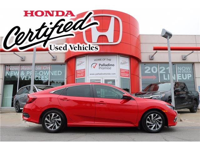 2019 Honda Civic EX (Stk: U9971) in Greater Sudbury - Image 1 of 36