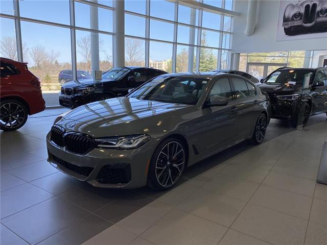 2021 BMW M550i xDrive (Stk: B21106) in Barrie - Image 1 of 15