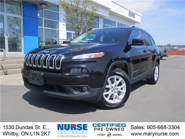 2017 Jeep Cherokee North (Stk: 21Z008A) in Whitby - Image 1 of 24