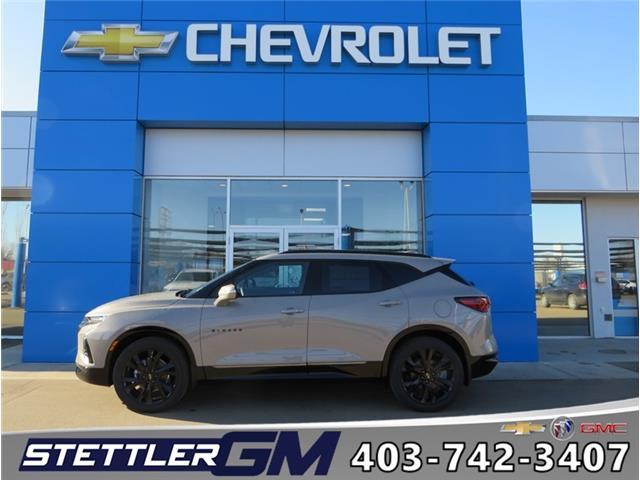 2021 Chevrolet Blazer RS (Stk: 21115) in STETTLER - Image 1 of 20