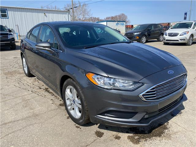 2018 Ford Fusion SE (Stk: 21U124) in Wilkie - Image 1 of 21