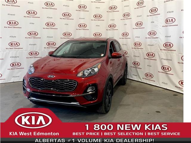 2021 Kia Sportage LX S (Stk: 22953) in Edmonton - Image 1 of 24