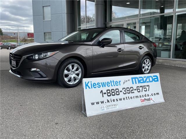 2016 Mazda Mazda3  (Stk: U4136) in Kitchener - Image 1 of 27