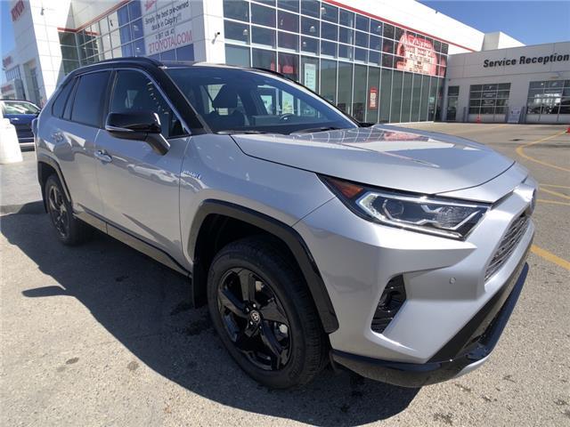 2021 Toyota RAV4 Hybrid XLE (Stk: 210544) in Calgary - Image 1 of 10