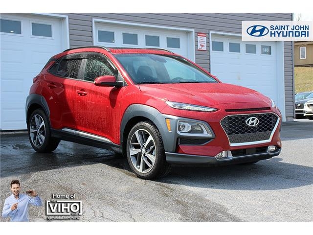 2021 Hyundai Kona 1.6T Ultimate w/Red Colour Pack (Stk: U3098) in Saint John - Image 1 of 23